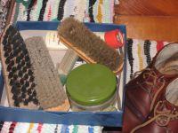 Schuhpflege Schuhputzset